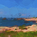Georgian Bay Islands by Les Palenik