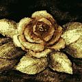 Antique Gold Rose by Hazel Holland