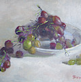 Greek Grapes by Ylli Haruni