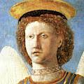 Head Of St. Michael by Piero della Francesco