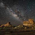 Hoodoos Sleeping Under The Stars by Harriet Feagin