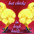 Hot Chicks In High Heels... by Will Bullas