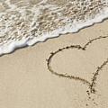 I Love The Beach by Adam Romanowicz