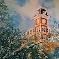 Ice On Old Main by Robin Miller-Bookhout