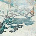Icebound by John Henry Twachtman
