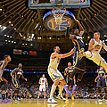 Indiana Pacers V Golden State Warriors by Rocky Widner