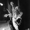 Jimi Hendrix Plays Pool by Ed Caraeff/morgan Media