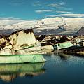Jokulsarlon Lagoon, Iceland by Peter OReilly
