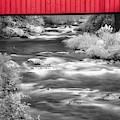 Kent Falls Covered Bridge by Susan Candelario