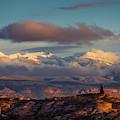 La Sal Mountains by Scott Kemper