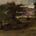 Landscape With Cottages by John Constable