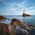 Lighthouse In Ahtopol, Bulgaria by Milan Ljubisavljevic