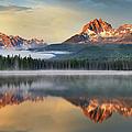 Little Redfish Lake, Sawtooth Mountains by Alan Majchrowicz