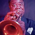 Louis Armstrong by Eliot Elisofon