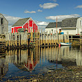 Low Tide At Blue Rocks  03 by Ken Morris