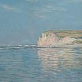 Low Tide At Pourville, Near Dieppe, 1882  by Claude Monet