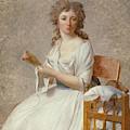 Madame De Pastoret And Her Son by Jacques-Louis David