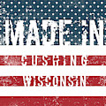 Made In Cushing, Wisconsin by Tinto Designs