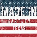 Made In Hartley, Texas by Tinto Designs