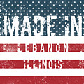 Made In Lebanon, Illinois by Tinto Designs