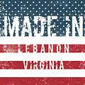 Made In Lebanon, Virginia by Tinto Designs