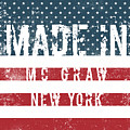 Made In Mc Graw, New York by Tinto Designs