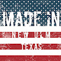 Made In New Ulm, Texas by Tinto Designs