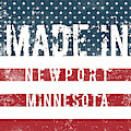 Made In Newport, Minnesota by Tinto Designs