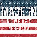 Made In Newport, Nebraska by Tinto Designs