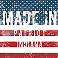 Made In Patriot, Indiana by Tinto Designs