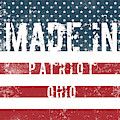Made In Patriot, Ohio by Tinto Designs
