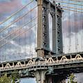 Manhattan Bridge  by Harriet Feagin