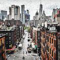 Manhattan by Ronald Bolokofsky