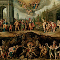 Mankind's Eternal Dilemma, The Choice Between Virtue And Vice by Frans Francken the Younger