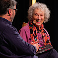 Margaret Atwood At The Hay Festival 2018 by Keith Morris