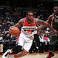 Milwaukee Bucks V Washington Wizards by Ned Dishman