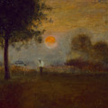 Moonrise by George Inness