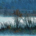 Morning Sichuan Lugu Lake China by Blake Richards