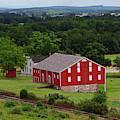 Moses Mclean Farm Gettysburg Battlefield by James Brunker