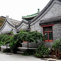 Mosque Building In Traditional Chinese Architecture Style Beijing China by Imran Ahmed