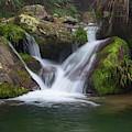 Mountain Waterfall IIi by William Dickman
