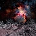 Nebula Seen From An Alien Planet by Mehau Kulyk