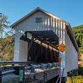 Nelson Mountain Bridge by Matthew Irvin