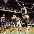 New York Knicks Vs. Boston Celtics by Dick Raphael