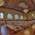 New York Public Library Nypl by Susan Candelario