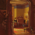 Not At Home by Eastman Johnson