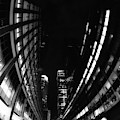 Nyc In Black And White Vii by Tina Baxter