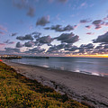 Pacific Beach Sunset  by Roman Gomez