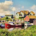 Peggy's Cove, Nova Scotia by Peggy Collins