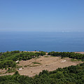 Photography View Over The Mountain Village Erice In Sicily by PM Artistic